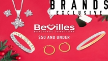Give a Gift That Sparkles this Xmas! Jewellery for the Whole Family w/ Bevilles Jewellery $50 & Under - Bracelets, Earrings, Gift Sets & More!
