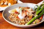 Spice Up Your Meal w/ a Thai Fusion Dinner Feast with Sides & Drinks for 2 at My First Cafe, Coburg! Salt & Pepper Soft Shell Crab, Red Curry & More