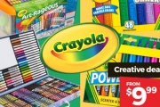 Embrace Your Child's Creative Streak w/ the Ultimate Crayola Sale! Shop the Range of Markers, Crayons, Chalk, Art Kits & More for Your Little Artist