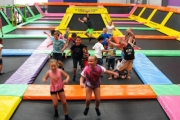 Get Bouncy w/ the Whole Fam w/ 2-Hrs of Trampoline Fun + Coffee @ Jump Zone Revolution, Gregory Hills! Enjoy the Ninja Warrior Course, Basketball Hoops & More