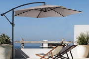 Transform Your Outdoor Space w/ a 3-Metre Outdoor Umbrella with Full Length Cover! 5 Stylish Colours, Lightweight, Elegant & Modern Design. Plus P&H
