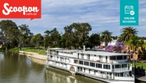 Take Your Dining to the Next Level w/ a Lunch or Dinner & Wine Onboard the Murray River Queen! Enjoy a Delish 2-Course Thai Feast w/ Spectacular Views