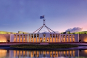 PARK HYATT CANBERRA Explore the Capital w/ a Weekend Stay at the 5* Hyatt Hotel Canberra! Plush Park King Room w/ Brekkie, Local Discounts & More