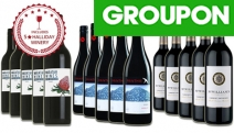 Stock Up for Christmas w/ 15 Bottles of Christmas Red Mixed Wines. Incl. 10 Bottles from a Five-Star Winery. Offers Fruit & Vanilla Aromas