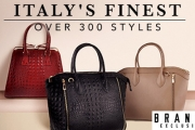 Bag Some Eye Candy for Your Arm w/ an Italian Leather Handbag! Shop Totes, Cross Bodies, Bucket Bags & More + Chic Leather Belts. Plus P&H